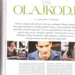 igazioliva cikk, Gentleman Magazin 2013.nyár, 1. oldal
