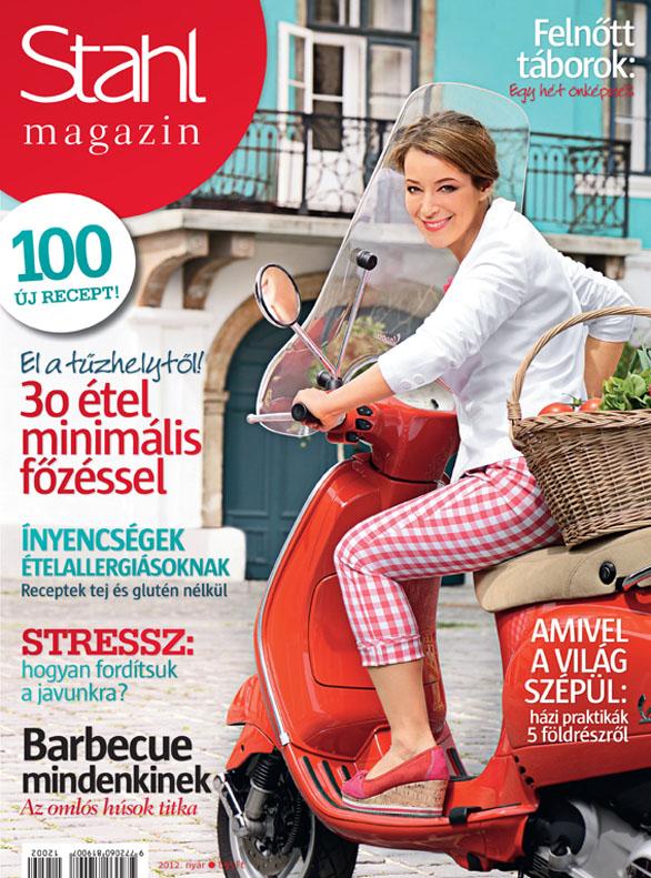 Stahl Magazin 2012 nyár, címlap