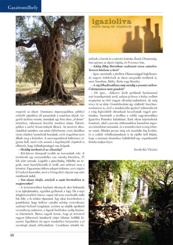 Vendéglátás Magazin 3. oldal