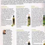 igazioliva olívaolajteszt szakértés, Stahl Magazin 2014. nyár. A teszt első oldala.