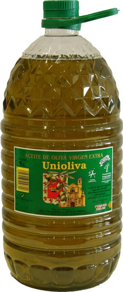 Unioliva:karakteres zöld íz, 100% picual. 5 l PET (külön nem kapható)