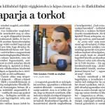 Népszabadság igazioliva cikk, 2012. nov. 24.