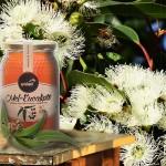 Apisland eukaliptuszméz -- gyantás, füstös-kámforos alapkarakter cédrusos-mentás-babéros jegyekkel. 500 g 2.400.-