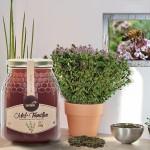 Apisland portugál kakukkfűméz -- fűszeres-likőrös-vadvirágos illat, intenzíven aromás, fűszeres-mentás karakter meglepően édes, tulipános-illatos jegyekkel. 500 g 2.600.-
