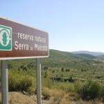 Serra de Malcata természetvédelmi terület. Forrás: geocaching.com