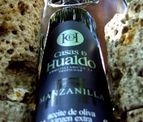 Casas de Hualdo Manzanilla 0,5 l. Nagyon-nagyon.