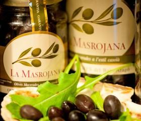 La Masrojana aragóniai fekete olajbogyó 220 g üveg