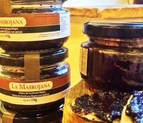 ÉDES fekete paté (olajbogyókrém), La Masrojana 110 g üveg